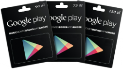 Buy GOOGLE PLAY GIFT CARD PL - 75 ZŁ AUTOMAT 24/7 - Automater